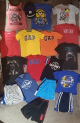 6 - 7 Small sz Boys Summer Clothes Lot in Fort Campbell, Kentucky