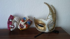 Decorative Venetian Masks in Wiesbaden, GE