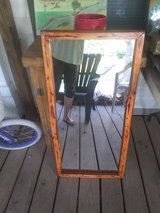Cedar framed mirror in Leesville, Louisiana