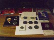 ten collectible coins in Fort Knox, Kentucky