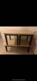Coffee table and end tables in Naperville, Illinois