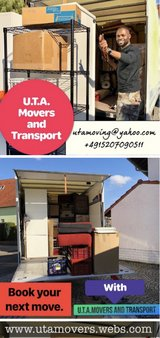 KMC AREA LOCAL MOVERS AND TRANSPORT PICK UP AND DELIVERY TRANSPORTATION in Ramstein, Germany