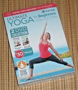 NEW Ultimate Yoga For Beginners Collection Gaiam 2 Disc DVD w Digital Copy in Chicago, Illinois