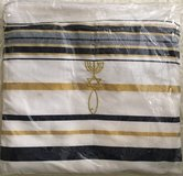 New Covenant Prayer Shawl, English/Hebrew with Bag in 29 Palms, California