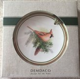 Demdaco Mini Plate Cardinal Ornament in 29 Palms, California