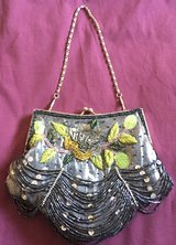 Beautiful Grey Bead-Embroidered Purse in 29 Palms, California