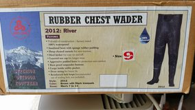 Chest Waders Size 9 in Aurora, Illinois