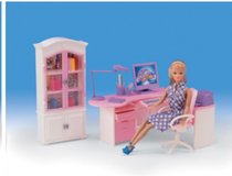 Barbie Size Office Furniture in St. Charles, Illinois