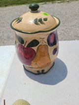Fruit canister in Fort Knox, Kentucky