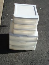 TWO SETS OF PLASTIC DRAWERS in Plainfield, Illinois