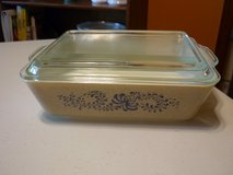 VINTAGE PYREX #503 HOMESTEAD REFRIGERATOR DISH W LID in Plainfield, Illinois