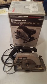 "1985 Craftsman 2.25HP 7.25"" Circular Saw in Naperville, Illinois"