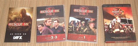 Rescue Me Complete First Season DVD 3-Disc Box Set in Yorkville, Illinois