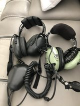 Military Aviation Headsets with Mouth Pieces in Warner Robins, Georgia