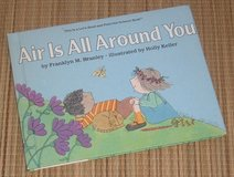 Vintage 1986 Air Is All Around You Hard Cover Book in Plainfield, Illinois