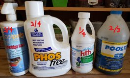 REDUCED Pool chemicals in 29 Palms, California