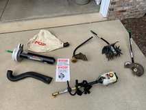 Ryobi Gas Trimmer with Attachments in Yorkville, Illinois