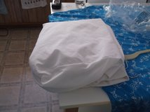 white water proof mattress pad full size in Alamogordo, New Mexico
