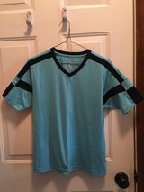 Youth soccer jersey (blue & navy) in Naperville, Illinois