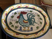 Rooster large turkey plater in Aurora, Illinois
