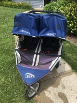 Double jogger stroller used bob brand in Naperville, Illinois