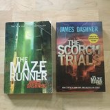 The Maze Runner and The Scorch Trials by James Dashner in Naperville, Illinois