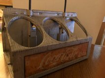 Vintage Coca-Cola 1940's Reynolds Aluminum 6 Pack Bottle Carrier Caddy in Okinawa, Japan