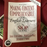 Making Content Comprehensible for ELs by Jana Echevarría in Plainfield, Illinois
