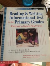 Reading & Writing Informational Text Primary Grades by Nell K Duke in Aurora, Illinois