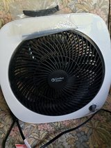 Small  10 - 11 inch Tilting Box Fan Used Two Weeks in St. Charles, Illinois