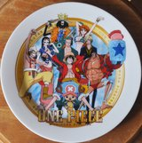 One Piece plates (2) in Okinawa, Japan