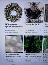 My Seasonal & Holiday items in this category are 1/2 off the price shown in my ad in Naperville, Illinois