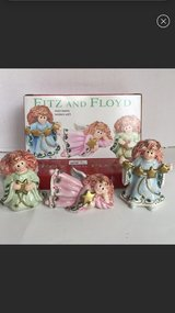 Fitz and Floyd moonbeam angels in Naperville, Illinois
