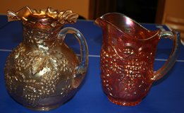 Carnival Glass Pitchers in Plainfield, Illinois