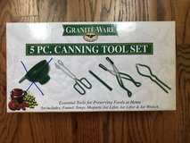 Granite Ware 4pc Canning Tool Set (missing funnel). in St. Charles, Illinois