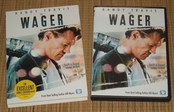 The Wager DVD w Slip Cover Randy Travis A Story About Faith in Joliet, Illinois
