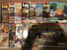15 Issues of Log Home Living in Bolingbrook, Illinois