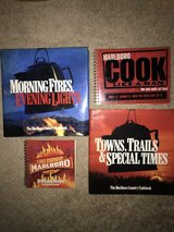 Set of 4 Marlboro Cookbooks in St. Charles, Illinois