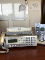 fax machine with 2 phones & cartrige in Okinawa, Japan