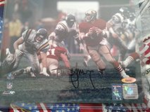 Steve Young SF49ER Autographed Photo in Tacoma, Washington
