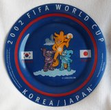 2002 FIFA Worldcup South Korea - Japan French plate in Okinawa, Japan