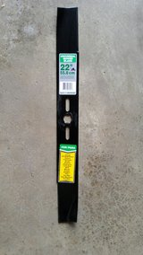 "22"" Lawn Mower Blade in Yorkville, Illinois"