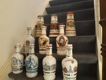 Assorted large beer bottles/jugs in Heidelberg, GE