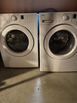 LG front loading washer and dryer in Naperville, Illinois