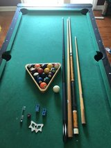 Pool table accessories in Naperville, Illinois