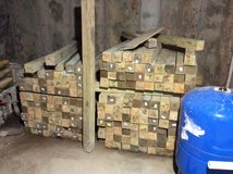 180  pieces 4x4s 4 ft long treated wood in Naperville, Illinois