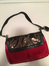 Girls red/black purse in Aurora, Illinois