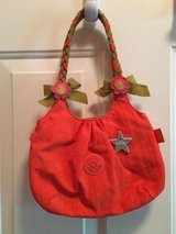 Girls orange flower purse in Aurora, Illinois