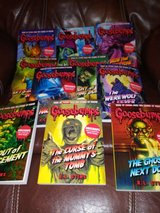 Goosebumps books in Spring, Texas