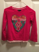Hot pink sequin long sleeve shirt in Aurora, Illinois